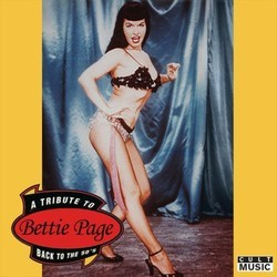 A Tribute to Bettie Page - Back to the 50's Soundtrack (Various Artists) - CD cover