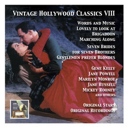 Vintage Hollywood Classics, Vol. 8 Soundtrack (Various Artists) - CD cover
