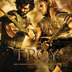 Troy Soundtrack (Gabriel Yared) - CD cover