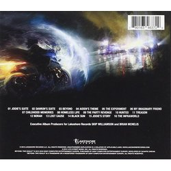 Beyond: Two souls Soundtrack (Lorne Balfe, Normand Corbeil, Hans Zimmer) - CD Back cover
