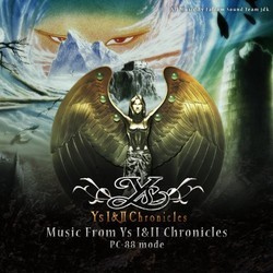Music from Ys I&II Chronicles PC-88 Mode Soundtrack (Falcom Sound Team jdk) - CD cover