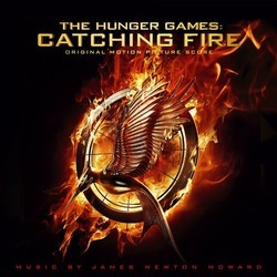 The Hunger Games: Catching Fire Soundtrack (James Newton Howard) - CD cover