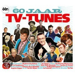 60 Jaar TV Tunes Soundtrack (Various Artists) - CD cover