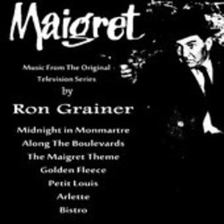 Maigret Soundtrack  (Ron Grainer) - CD cover