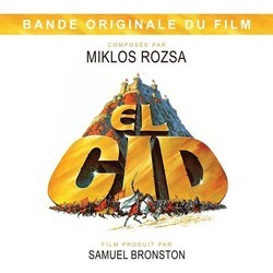 El Cid Soundtrack (Mikl�s R�zsa) - CD cover