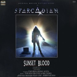 Sunset Blood Soundtrack (Starcadian ) - CD cover