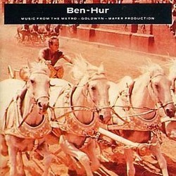 Ben-Hur Soundtrack (Mikl�s R�zsa) - CD cover