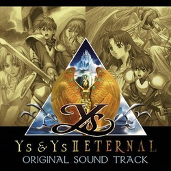 Ys & Ys II Eternal Soundtrack (Falcom Sound Team jdk) - CD cover