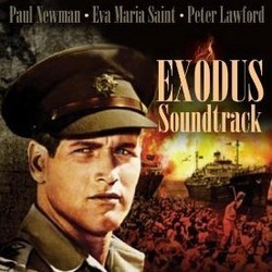 Exodus Soundtrack (Ernest Gold) - CD cover
