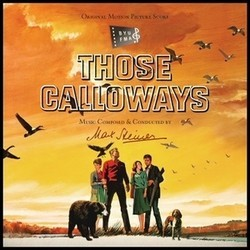 Those Calloways Soundtrack (Max Steiner) - CD cover