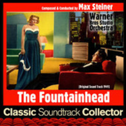 The Fountainhead Soundtrack  (Max Steiner) - CD cover