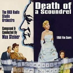 Death of a Scoundrel Soundtrack (Max Steiner) - CD cover