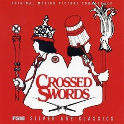 Crossed Swords サウンドトラック (Maurice Jarre) - CDカバー