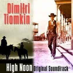High Noon Soundtrack (Dimitri Tiomkin) - CD cover