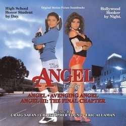 Angel Soundtrack  (Eric Allaman, Craig Safan, Christopher Young) - CD cover