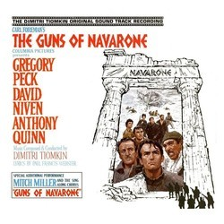 The Guns of Navarone Soundtrack (Dimitri Tiomkin) - CD cover
