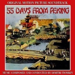 55 Days at Peking Volume 2 Soundtrack  (Dimitri Tiomkin) - CD cover