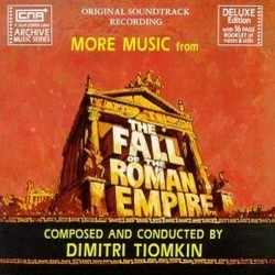 More Music from The Fall of the Roman Empire Ścieżka dźwiękowa (Dimitri Tiomkin) - Okładka CD