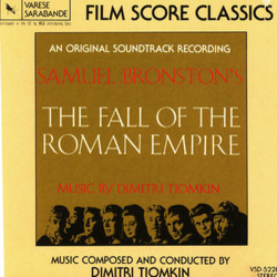 The Fall of the Roman Empire 声带 (Dimitri Tiomkin) - CD封面