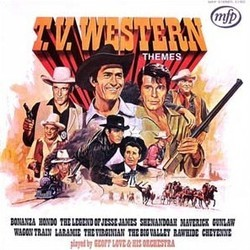 T.V. Western Themes Colonna sonora (Various Artists) - Copertina del CD