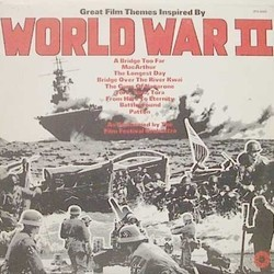 Great Film Themes Inspired by World War II サウンドトラック (John Adams, Malcolm Arnold, George Duning, Jerry Goldsmith, Lennie Hayton, Maurice Jarre, Dimitri Tiomkin) - CDカバー