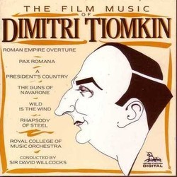 The Film Music of Dimitri Tiomkin Soundtrack (Dimitri Tiomkin) - CD cover