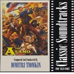 The Alamo Soundtrack (Dimitri Tiomkin) - CD cover