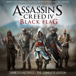 Assassin's Creed 4: Black Flag 声带 (Various Artists, Brian Tyler) - CD封面