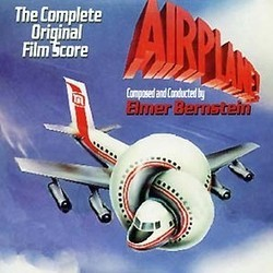 Airplane! / Little Women Soundtrack (Elmer Bernstein) - CD-Cover