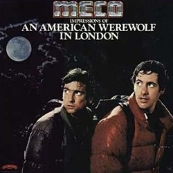 An American Werewolf in London 聲帶 (Various Artists, Elmer Bernstein) - CD封面