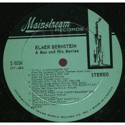 Elmer Bernstein: A Man and His Movies Bande Originale (Elmer Bernstein, Bronislau Kaper) - cd-inlay