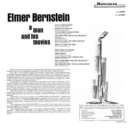 Elmer Bernstein: A Man and His Movies Bande Originale (Elmer Bernstein, Bronislau Kaper) - CD Arrière