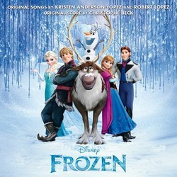Frozen 聲帶 (Various Artists, Christophe Beck) - CD封面