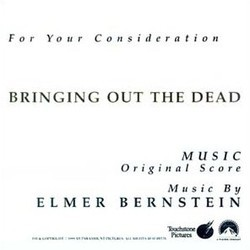 Bringing Out the Dead Soundtrack (Elmer Bernstein) - Carátula