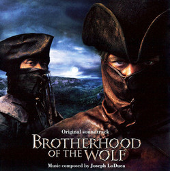 Brotherhood of the Wolf Soundtrack (Joseph LoDuca) - CD cover