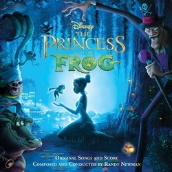The Princess and the Frog Soundtrack (Various Artists, Randy Newman) - CD cover