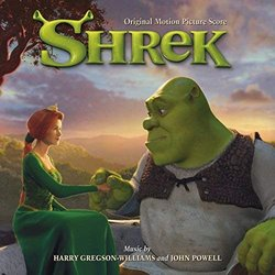 Shrek Soundtrack (Harry Gregson-Williams, John Powell) - CD cover