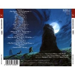 Shrek Soundtrack (Harry Gregson-Williams, John Powell) - CD Back cover