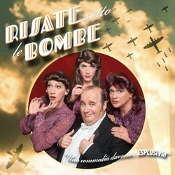 Risate sotto le bombe Soundtrack (Various Artists) - CD cover