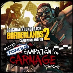 Borderlands 2 Soundtrack (Jesper Kyd, Kevin Riepl) - CD cover