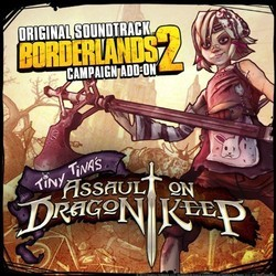 Borderlands 2 Soundtrack (Jesper Kyd, Raison Varner) - CD cover
