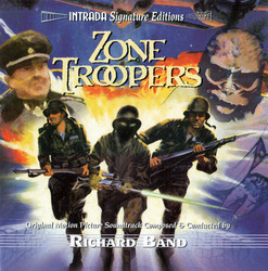 Zone Troopers / The Alchemist Soundtrack (Richard Band) - CD cover