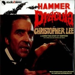 Hammer Presents Dracula Soundtrack (James Bernard, John McCabe, Harry Robinson, David Whitaker) - Carátula