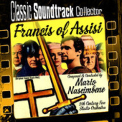 Francis of Assisi Soundtrack (Mario Nascimbene) - CD cover