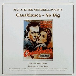 Casablanca / So Big Bande Originale (Max Steiner) - Pochettes de CD