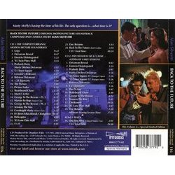 Back to the Future Soundtrack (Alan Silvestri) - CD Trasero