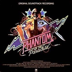 Phantom of the Paradise Soundtrack (Various Artists, Paul Williams) - CD cover