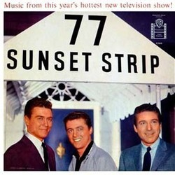 77 Sunset Strip Soundtrack (Various Artists) - CD cover