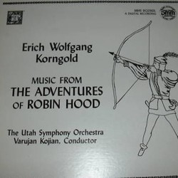 The Adventures of Robin Hood 聲帶 (Erich Wolfgang Korngold) - CD封面