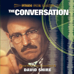 The Conversation Soundtrack (David Shire) - CD cover